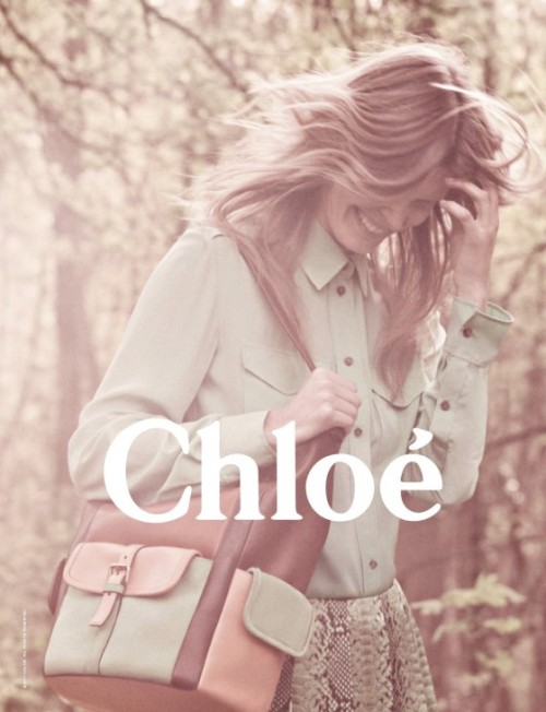 in love with the new chloe ad campaign for winter 2011/2012  <3 wish i was this girl