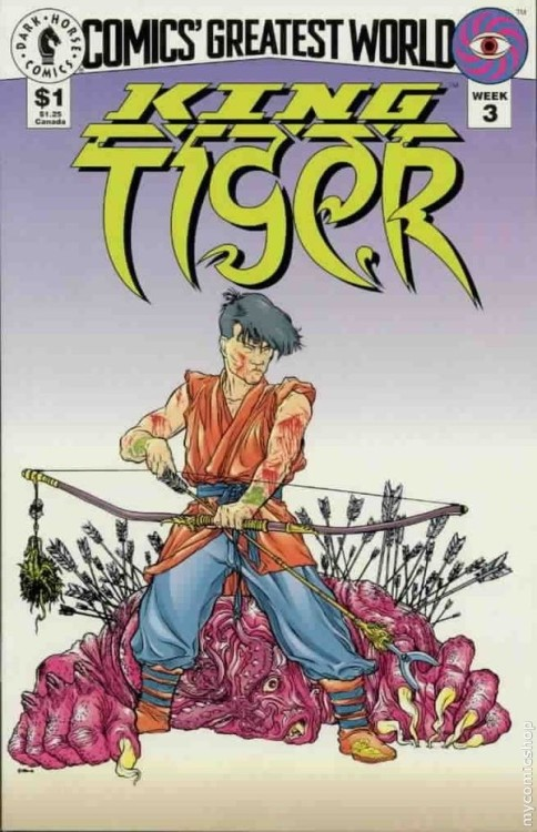 Cover to Comic's Greatest World: King Tiger