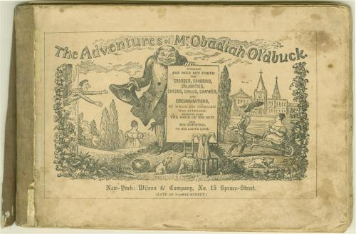 platinumage:  Rudolphe Töpffer's The Adventures of Obadiah Oldbuck (1837), which has been described as the earliest known comic book