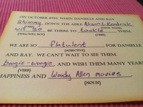 akturns30:  304. Best RSVP card ever. (proud, DD??)