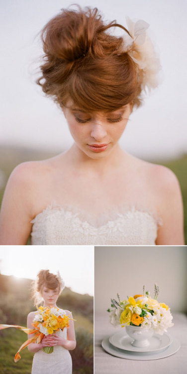 a country spring wedding a beautiful, small country wedding [via once wed]
