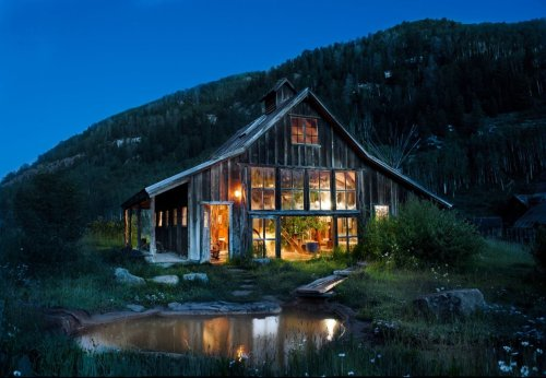 My brothers,father and I are looking at a cabin for guys retreat.  A place like this would be nice.