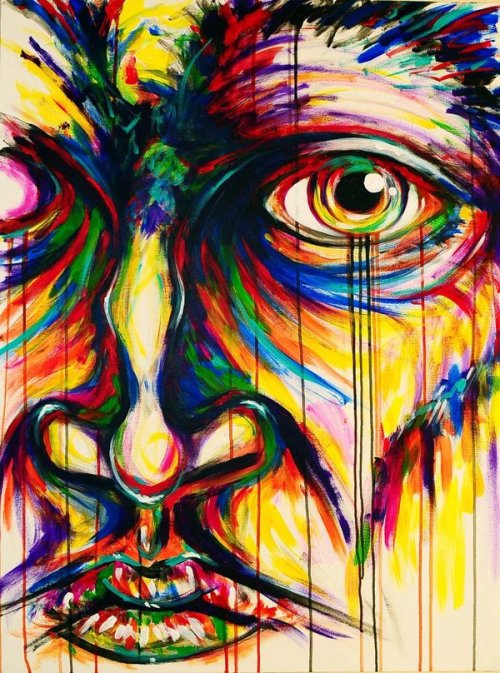 "fuckyeahpsychedelics:  ""Color King"" by luxcarlay"