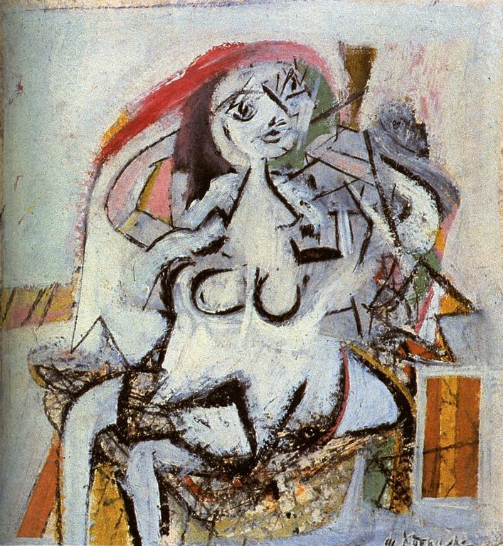 Woman - Willem de Kooning, 1947