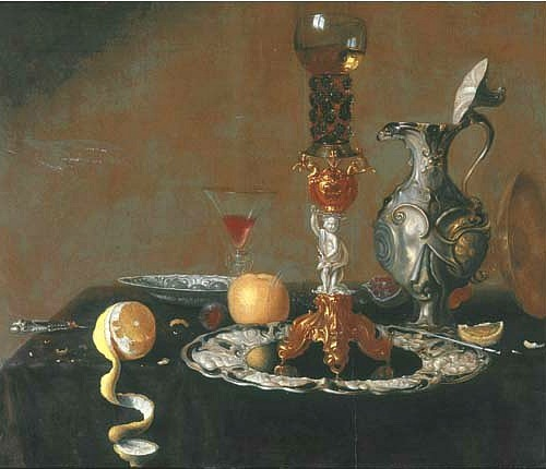 Gerard van Berleborch Still Life 17th century