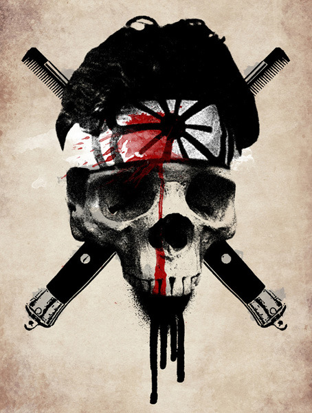 Sweep the leg. xombiedirge:  Death To Larusso by Alex Lodermeier / Store / Twitter