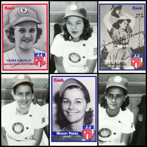 "cubabeisbol:  A collage of six Cuban players who were members of the All-American Girls Baseball League. Clockwise from top left with seasons in the league in parenthesis: Isora del Castillo (1949-51), Mirtha Marrero (1948-53), Isabel Alvarez (1949-54), Luisa Gallegos (1948-49), Migdalia Perez (1948-54) and Gloria Ruiz (1948). According to Cuban Ball, ""Women were involved with Cuban baseball from the very beginning. First as fans and later as participants in women's teams."" At the Cuban Cultural Center of New York's Aug. 20 congress on Cuban baseball history, Leslie Heaphy, an assistant history professor at Kent State University and author of Encyclopedia of Women and Baseball, gave a presentation on the history of women in Cuban baseball. Isora del Castillo is the only women enshrined in the Cuban Baseball Hall of Fame, having been elected in 1997.  baddd aaasssssss"