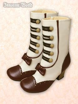 "Innocent World: ""Short Gretel Boots"""
