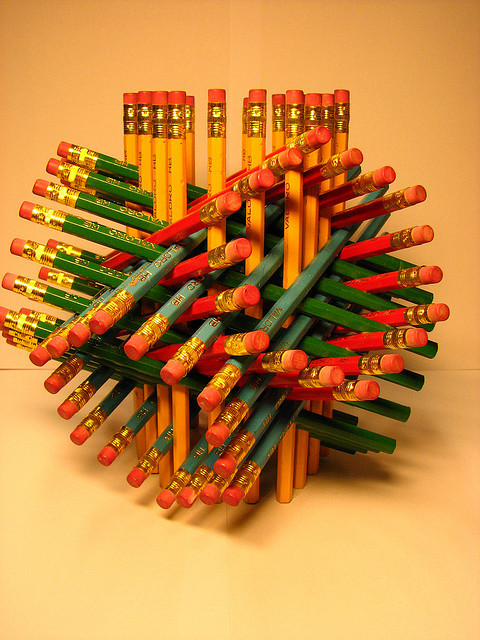 72 pencils : finished by fdecomite on Flickr.