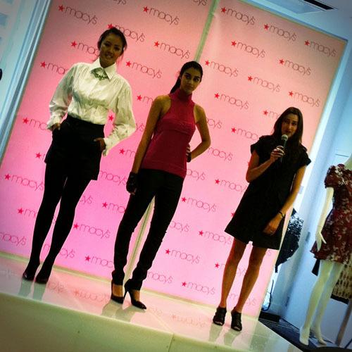 karl Lagergeld Macy's Models