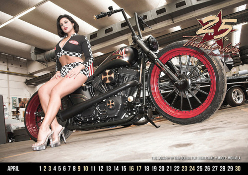 Thunderbike - Calendar 2011 // April by Pixeleye Interactive // Dirk Behlau on Flickr.