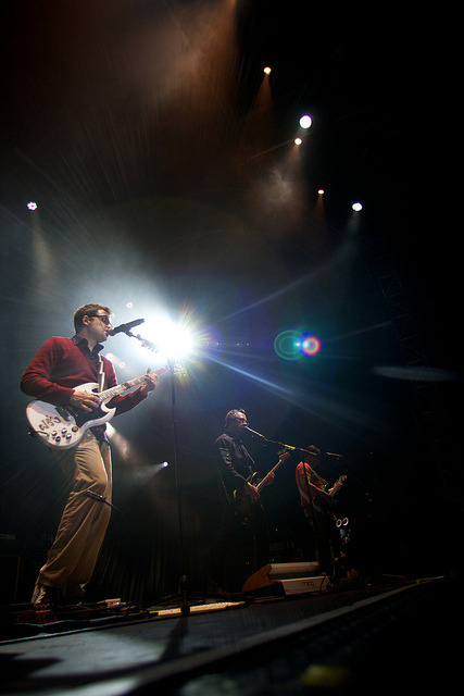 yet another awesome shot by vegas. damn vegas2821:  Live at Squamish: Weezer on Flickr.