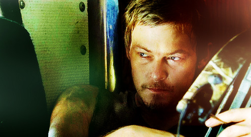 Daryl Dixon can come to my rescue any day.