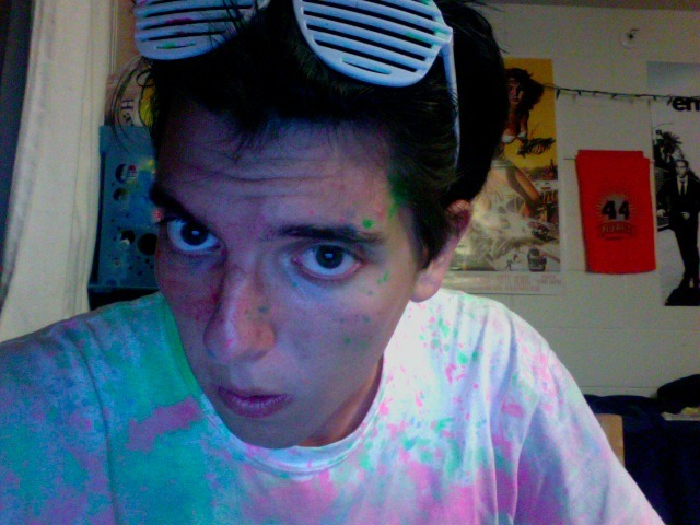 Post-Dayglow.