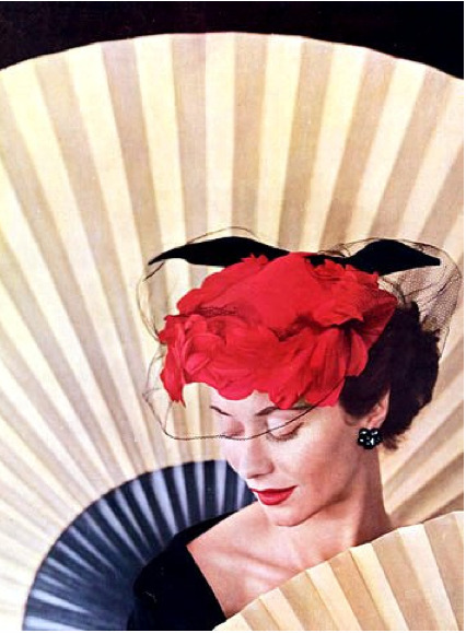 Rose Valois creation, L'Officiel, 1952
