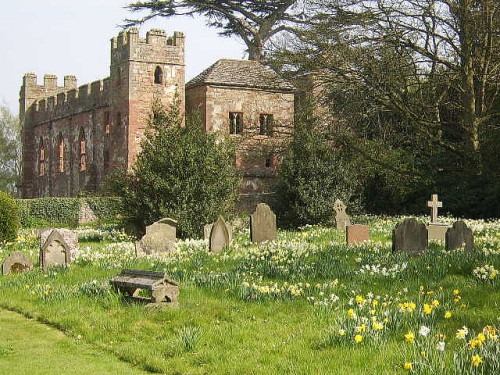 ysvoice: Cemetry at Acton Burnell Castle by IanTompkins  Acton Burnell Castle is a 13th-century fortified manor house, located near the village of Acton Burnell, Shropshire, England. It is believed that the first Parliament of England, in which the Commons were fully represented, was held here in 1283.