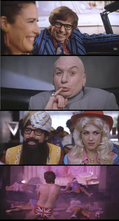 moviesinframes:  Austin Powers: International Man of Mystery, 1997 (dir. Jay Roach) By IsolaSPerduta