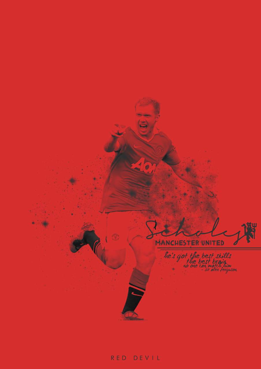 ohthehumanityyy:  P.Scholes (request: madraseye + others…) buy a poster HERE