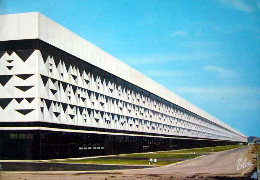 archimaps:  The Convention Center, Bordeaux