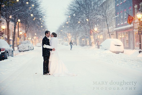 Really hoping for snow on our wedding day!