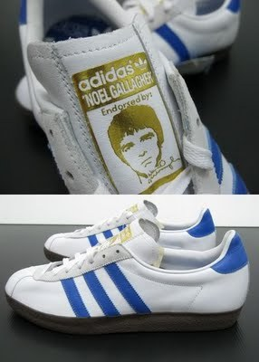 (via More Pictures Of Noel Gallagher's Adidas 'Gazzelle' Trainers)