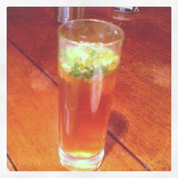 #yb #Sydney #ginger #passionfruit #mojito  (Taken with instagram)