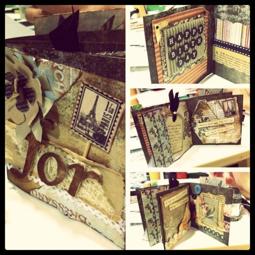 #scrapbook #album #birthday  (Taken with instagram)