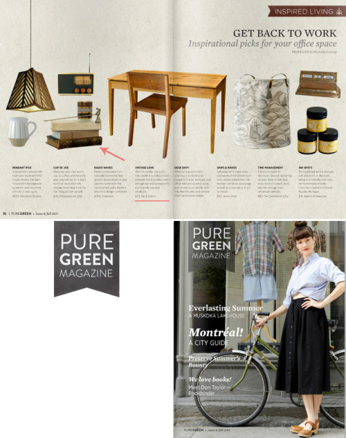 Pip & Estella and Limegreen's collaborative eco candles in the September issue of Pure Green Magazine. Thank you, PGM team!
