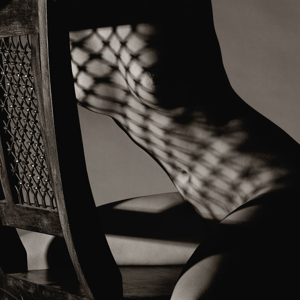 frenchtwist:  via rawpleasures: Helen with Chair Shadows by Nick Giles