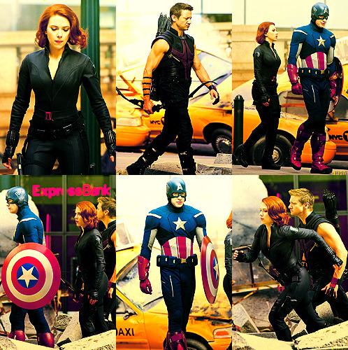 "Filming ""The Avengers"" in New York City"