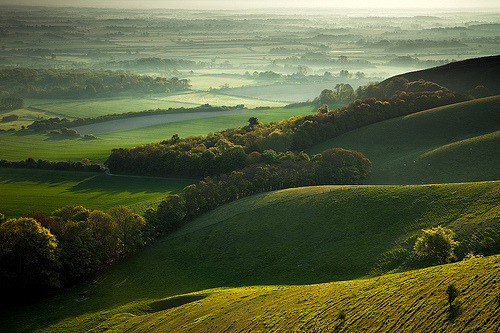 Beacon View (by Slawek Staszczuk) Firle Beacon, South Downs National Park, East Sussex, England