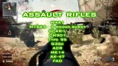 codobsessed:  Modern Warfare 3: Weapons and equipment   2 of the sniper rifles are bolt actions, to all you snipers. I'm also very happy that shotguns are now primaries.