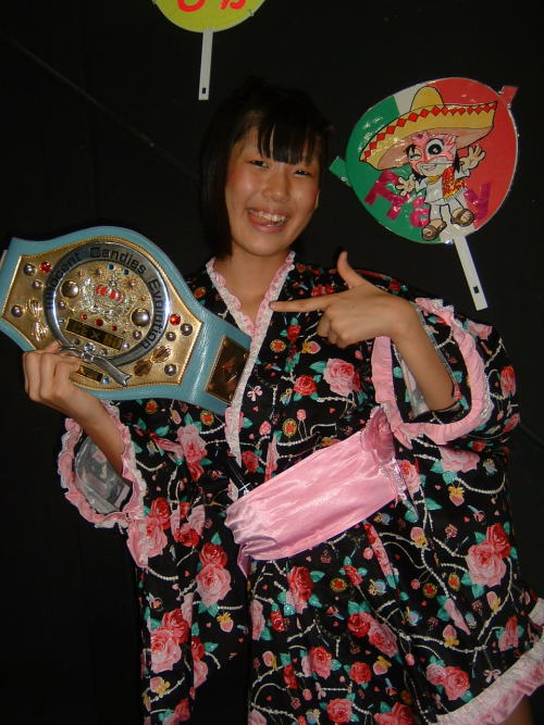 HIKARI MINAMI (みなみ飛香) - ICEx60 champion and the future of Ice Ribbon Girls Pro Wrestling!