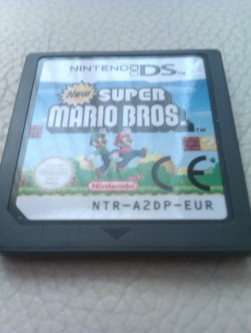 buy-my-soul:  Super Mario Bros nintendo ds game..no packet..£3? or offer :3