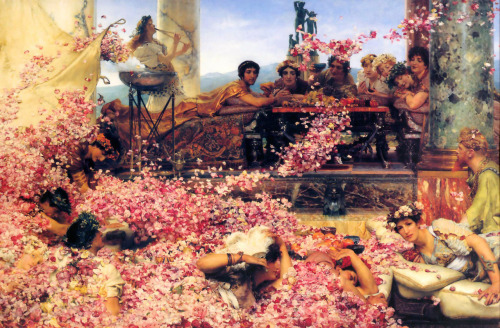 rustybreak:  The Roses of Heliogabalus by Sir Lawrence Alma Tadema.One of my all time favourite paintings. I want it to hang in my white bedroom, on the massive rear wall with no distractions around it. Simply perfect.
