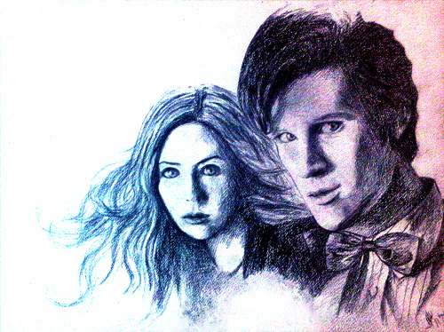 adipaz26:  posting some dw fan art~ cant sleep  ~just watched night terrors~~ lalala~
