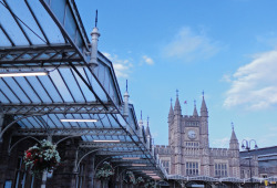 Bristol Temple Meads Railway Station…..