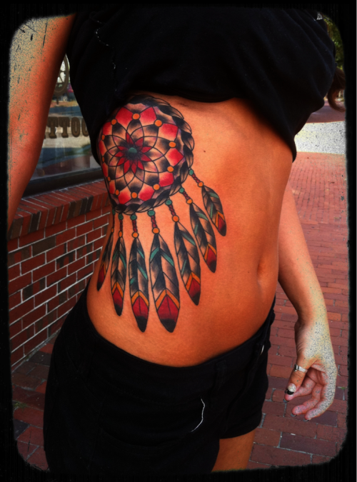 #cyndilou #tattoo #dreamcatcher