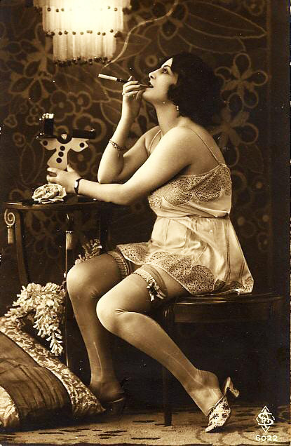 Fabulous young thing! rococovintage:  what a fabulous flapper gal! | 1920s vintage erotica.