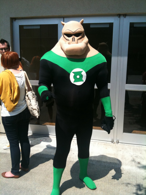 Outstanding animated Kilowog cosplay from Dragon*Con!!