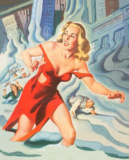 cupcakekatieb-eyecandy:  Earle Bergey #2 (via: trixietreats)