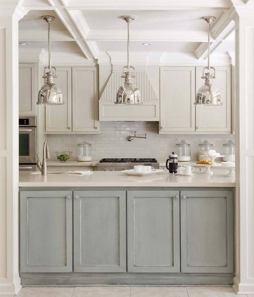 Muted Southern kitchen.