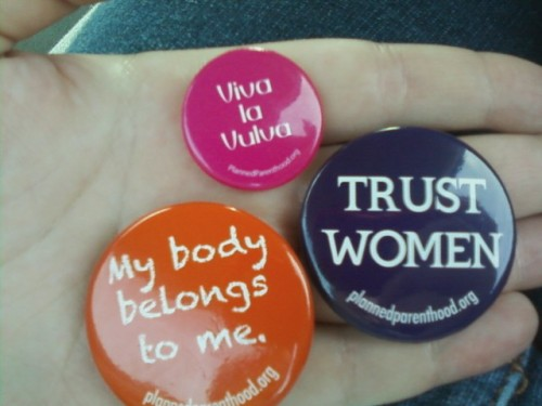 impeachmybush:  Look what I got today <3  Viva la Vulva!!