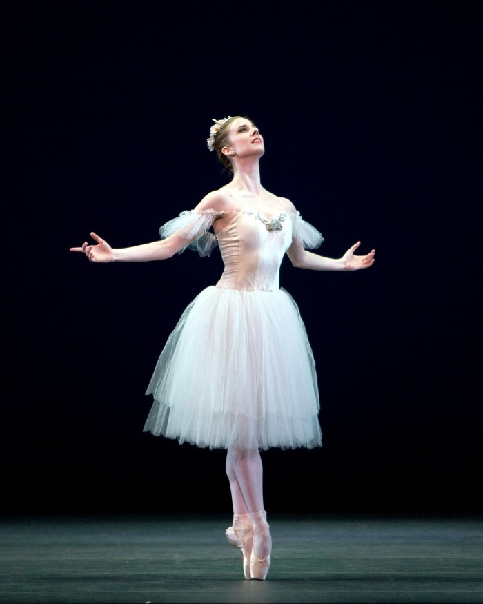 whatstheenpointe:  Michele in the Sylphide section in Etudes Photograph : Rosalie O'Connor