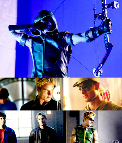 Green Arrow aka Oliver Queen  peytonthecomet:  Top 10 Favourite actors from TV shows (in no particular order) - Justin Hartley||Oliver Queen ( Smallville )