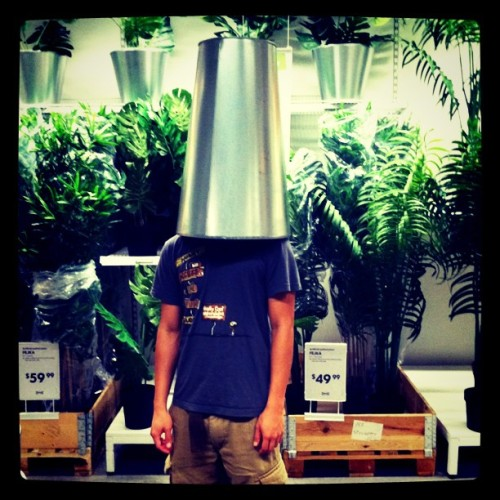 This is @bernardjhuang at ikea. (Taken with instagram)