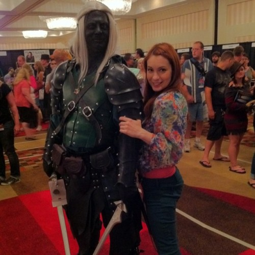 Drizzt!!! #dragoncon  (Taken with instagram)