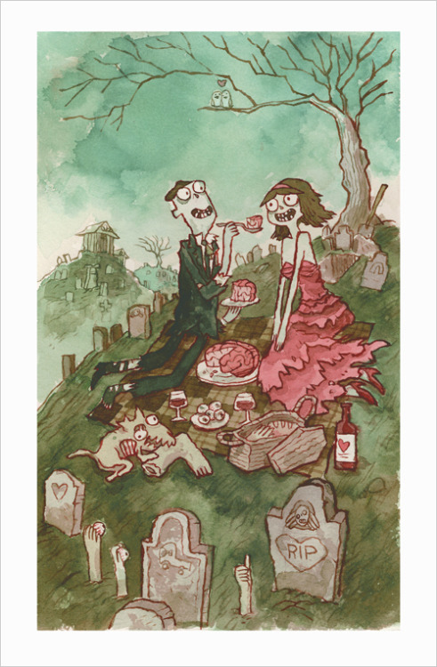 scottlava:  TONIGHT!  Zombie In Love Art Exhibit! Opening Reception / Sep 3, 7:00PM - 10:00PM Gallery Nucleus 210 East Main St  Alhambra CA 91801  Come over!  !