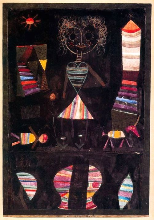 Paul Klee, Puppet theatre 1923