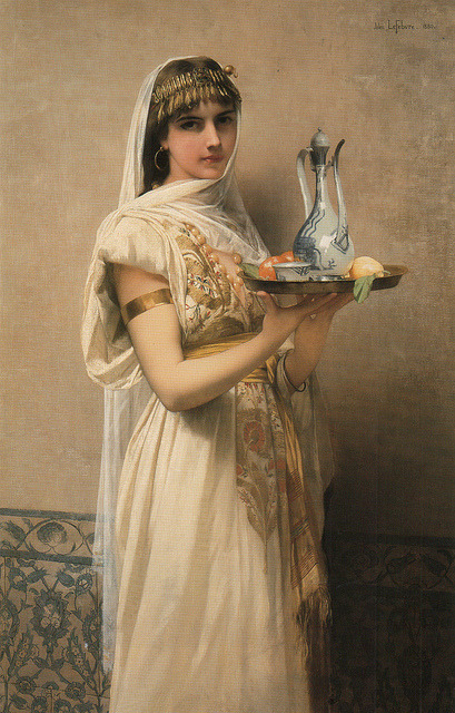 "My Bohemian Aesthetic soyouthinkyoucansee:  JULES JOSEPH LEFEBVRE, ""SERVING TEA"""